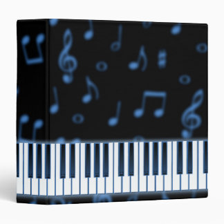 Blue Keyboard Binder