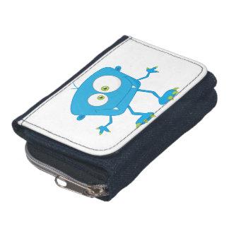 Blue Kids Monster Alien Wallets