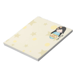 Blue Kimono Notepad