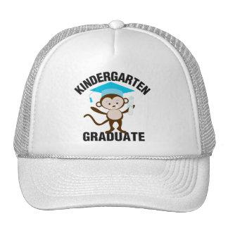 Blue Kindergarten Graduate Trucker Hat