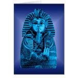 Blue King Tut #2 Cards
