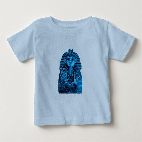 Blue King Tut Baby T-Shirt
