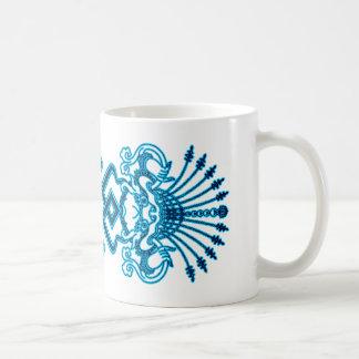 Blue Kirttmukha Mug