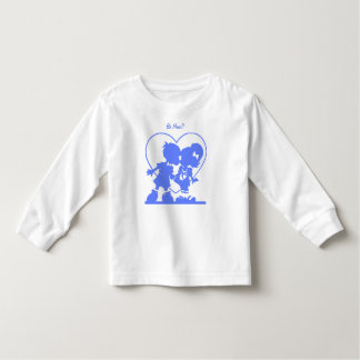 Blue Kissing Kids T-Shirt