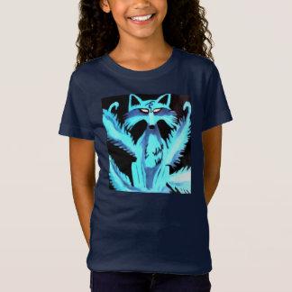 Blue Kitsune Girls top