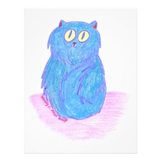 Blue Kitten Flyer