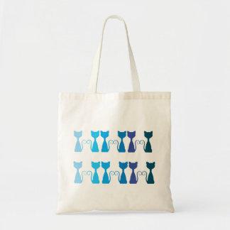 Blue Kittens Summer Bag