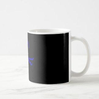 Blue Kitty Coffee Mug