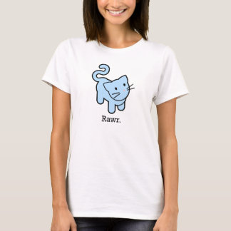 Blue Kitty Rawr T-Shirt