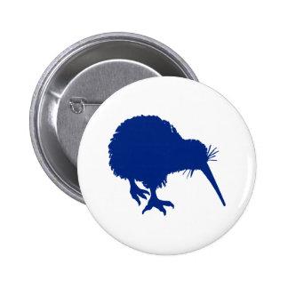 Blue Kiwi 2 Inch Round Button