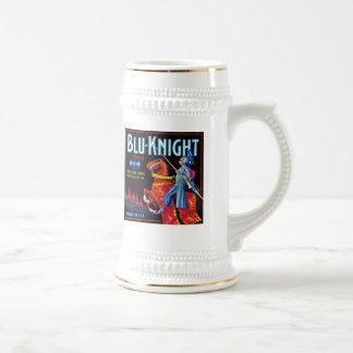 Blue Knight Brand Beer Stein