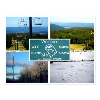Blue Knob, Pennsylvania Postcard