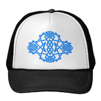 Blue Knot Hat