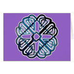 Blue Knotwork Flower