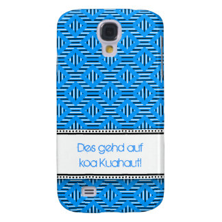 Blue knows with saying samsung s4 case