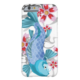 Blue Koi Fish Barely There iPhone 6 Case