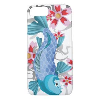 Blue Koi Fish iPhone 7 Case