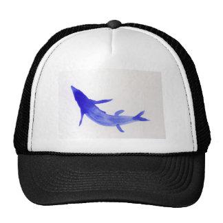 Blue Koi Fish Trucker Hat