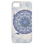 Blue Koi Lotus Mandala Casemate Phone Case iPhone 5 Covers