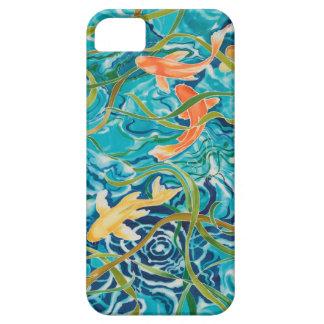 Blue Koi Pond iPhone SE/5/5s Case