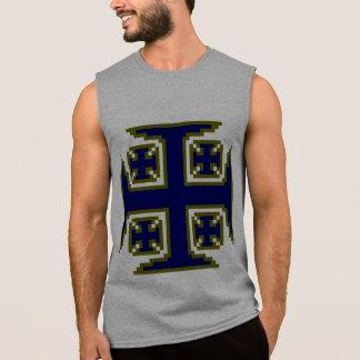 Blue Kross™ Mens' Sleeveless T-Shirt