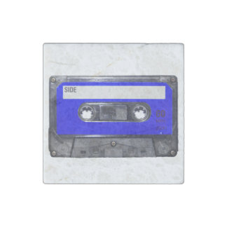 Blue Label Cassette Stone Magnet