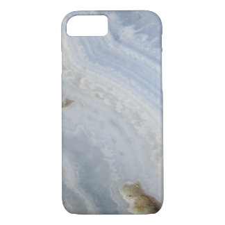 Blue Lace Agate Swirl cool nature stone iPhone 7 Case