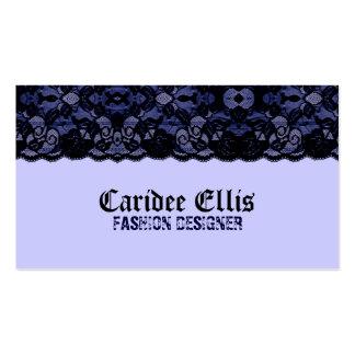 Blue Lace Business Card