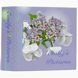 Blue Lace Hydrangea Binder