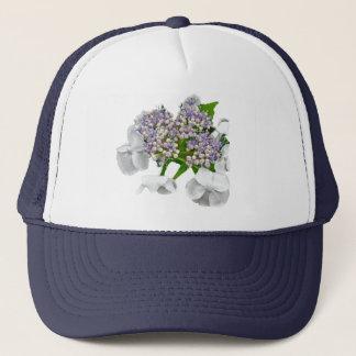 Blue Lace Hydrangea Coordinating Items Trucker Hat