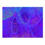 Blue Lace Postcard