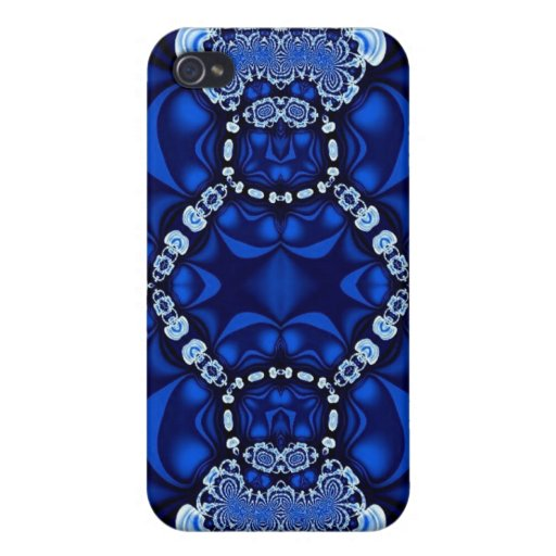Blue Lace Speck Case iPhone 4 Cover