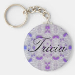 blue lace Tricia keychain