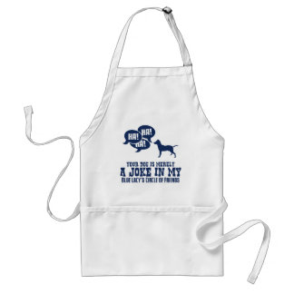 Blue Lacy Adult Apron