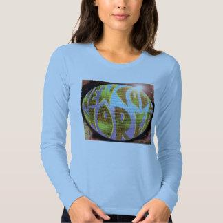 """Blue Ladies """"NCW"""" CD Planet Long Sleeve Shirt"""