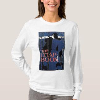 Blue Lady Art Nouveau Advertisement T-Shirt