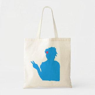 Blue lady bag