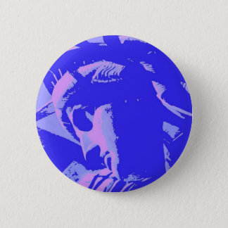 Blue Lady Liberty Button