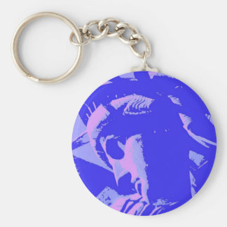 Blue Lady Liberty Key Chains