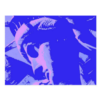 Blue Lady Liberty Postcard