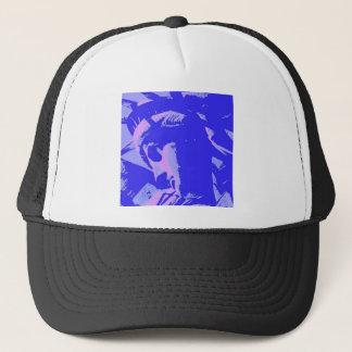 Blue Lady Liberty Trucker Hat