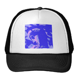 Blue Lady Liberty Trucker Hat