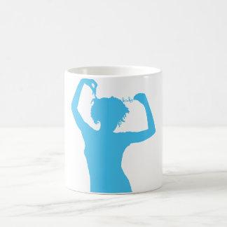 Blue Lady Mug