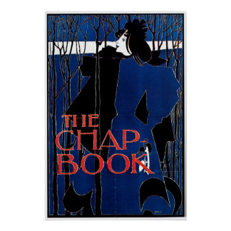Blue Lady / The Chap Book 1894 ~ Vintage Posters