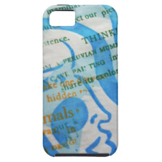 Blue Lady tough case-mate iPhone 5 Cover