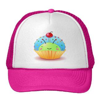 Blue Ladybug Cupcake Hat
