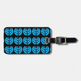 Blue Ladybug Luggage Tag