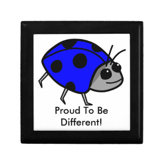 Blue Ladybug Proud To Be Different Gift Box