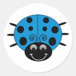 Blue Ladybug Sticker