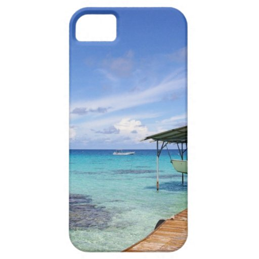 Blue Lagoon at the Tuamotus, French Polynesia iPhone 5 Case